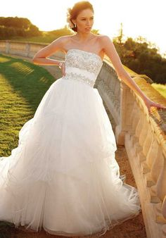 Casablanca Bridal 2052 Ball Gown Wedding Dress
