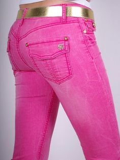 7 for all mankind neon pink jeans | Step Out | Pinterest | All ...