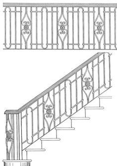 Stair Railing Designs ISR202