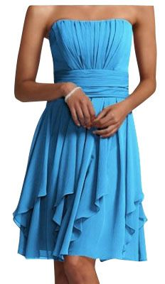 Gently used David's Bridal Bridesmaid Dress Feminine on Tradesy