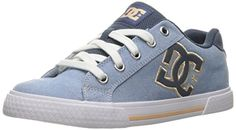 DC Womens Chelsea TX SE Skateboarding Shoe Navy White 9 B US >>> Check out this great product.