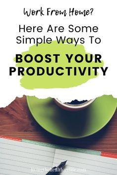 If you've recently started working from home, it can be hard to keep yourself motivated and productive during the day. But there are some simple changes you can make to your work at home routine to help you get more done in less time Make Money Blogging, How To Make Money, How To Become, Organisation Hacks, Organising Tips, Organization, Time Management Tools, Daily Planner Printable, Productivity Apps