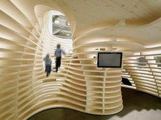 Lignum Pavilion by Frei + Saarinen Architects