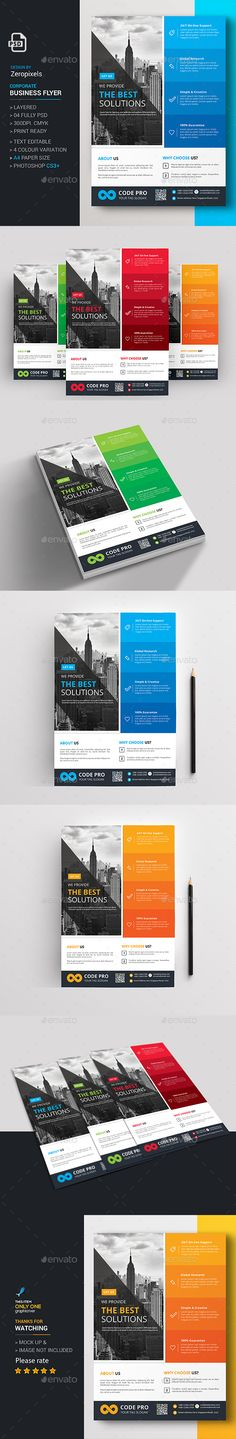 Corporate Flyer Template PSD. Download here: https://graphicriver.net/item/corporate-flyer/17283332?ref=ksioks