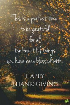 Thanksgiving Day Messages for Parents