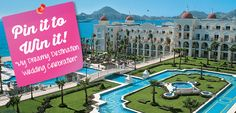 Pin it to Win it Contest! Enter for a chance to win a 7-night stay at Hotel Riu Palace Cabo San Lucas! Click for rules & regulations. #contest #giveaway #Pinterest