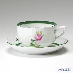 ヘレンド ウィーンのバラ 00724-0-00/724ティーカップ&ソーサー 200cc