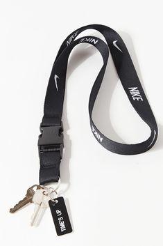 Nike Lanyard, School Accessories, Iphone Accessories, Nike Tanjun, Casual Sneakers, Key Rings, Urban Outfitters, Sporty, Man Shop