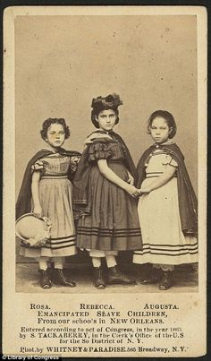 Fundraiser organizers used lighter skinned mixed race slave children as part of an campaign to raise money for African American schools in the 1860s. They believed that lighter skinned slaves would garner more sympathy, and in turn more money, for their cause.