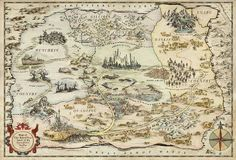 Explore the Land of Oz map
