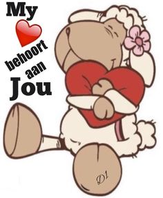 My hart is, en sal altyd joune wees Wisdom Quotes, Qoutes, Lekker Dag, Afrikaanse Quotes, Goeie Nag, Cute Messages, Tatty Teddy, Cute Quotes, Friendship Quotes