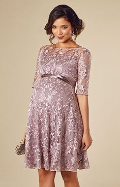 022d1f4fadb68 Asha Maternity Dress Lilac by Tiffany Rose Maternity Shorts, Maternity  Gowns, Maternity Fashion,