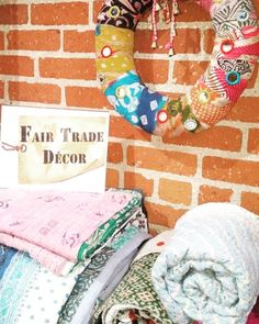 From India these sari textiles made of second-hand materials provide an escape to Indian women who have escaped from the sex trade.  #fairtrade #fairtradedecor #decor #sari #textiles #sextrade #escape #india #ethical #sustainable #beautiful #women #safe #delmar #shopdelmar #sandiego #local #shoplocal #worldwide #artisans #unique #story
