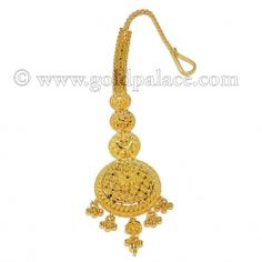 Gold Tikka or maang Tikka forehead Jewelry for women Gold Ring Designs, Gold Bangles Design, Gold Jewellery Design, Rajput Jewellery, Bridal Jewellery, Bridal Necklace, Gold Necklace, Maang Teeka, Tikka Jewelry
