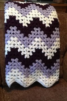 Manly Ripple Afghan Ripple Afghan Afghans And Crochet
