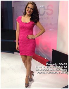 Look del día gracias a Sears, Brandon Rubio y Amanda's Salon #AsíSomosOnline #ElSalvador #Moda #Belleza #Look #CélidaMagaña #RoxanaWebb