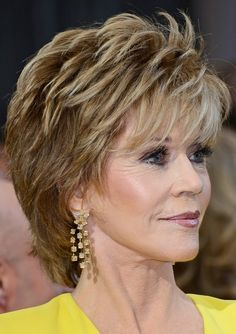 Jane+Fonda+Hairstyle+Pictures+2010 | Jane Fonda's Short Hairstyles: Shaggy Pixie Cut with Bangs /Source ...