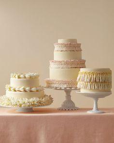 perfect! wrap leis around the cake!