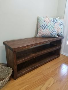 17 best farmhouse entryway tables and benches handmade solid wood rh pinterest com