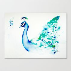 Risultati immagini per watercolour peacock Watercolor Peacock, Watercolor Horse, Peacock Painting, Watercolor Animals, Watercolour Painting, Pretty Art, Beautiful Artwork, Watercolor Illustration, Painting Inspiration