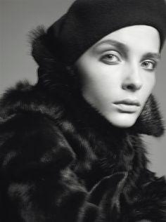 Snejana Onopka by Steven Meisel for Vogue Italia November 2005