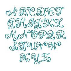 Tattoo Lettering Styles, Graffiti Lettering Fonts, Hand Lettering Tutorial, Hand Lettering Alphabet, Creative Lettering, Cool Lettering, Tattoo Fonts Alphabet, Calligraphy Alphabet, Fancy Fonts Alphabet