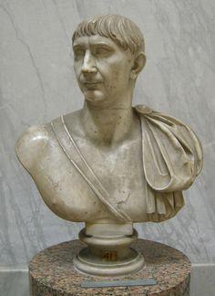 museo Ostiense - Busto di Traiano