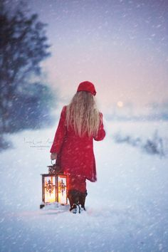 light your path, winter, red, candle, csutafoto