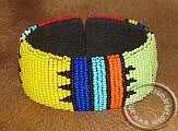 African Zulu beaded Bracelet - Colorful