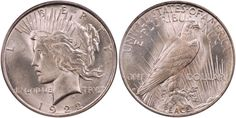 1922-D Peace Dollar PCGS MS65 CAC - Submitted by Thomas Bush  of Thomas Bush Numismatics & Numismatic Photography (http://www.ivyleaguecoin.com/) #CoinOfTheDay #COTD