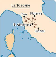 Carte circuit Corse