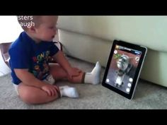Funny Baby Talks With Cat on iPad|| Try Not To Laugh || Funny videos 201...