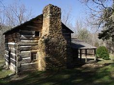 Walker Sisters Cabin..Little Brier Gap trail.  Metcalf Bottoms picnic area