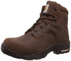 Carhartt Men's 6-Inch Waterproof Composite-Toe Work Hiker Boot >>> Discover this special boots, click the image : Carhartt Boots