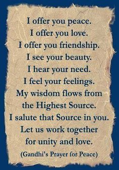 This is my wish for us all.....and my heartfelt prayer.  Man do we need it.