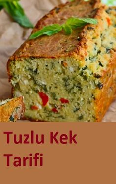 Good Food, Yummy Food, Salty Snacks, Salty Cake, Best Cake Recipes, Turkish Recipes, Finger Foods, Food And Drink, Cooking Recipes