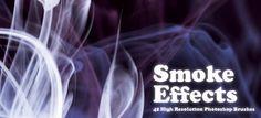 Кисти дыма для Фотошопа. 16 наборов