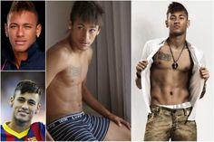 Neymar Da Silva Santos - Brésil - Thursday Oh Yeah ! spécial Coupe du Monde de football : Les 10 joueurs les plus sexy du Mondial 2014 | ParisianShoeGals