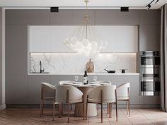 Kitchen Room Design, Home Room Design, Modern Kitchen Design, Dining Room Design, Home Decor Kitchen, Interior Design Kitchen, Kitchen Ideas, Modern Classic Interior, Modern Interior Design