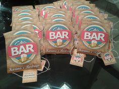 Convite em formato sachê de chá para chá bar - Atellier Print.