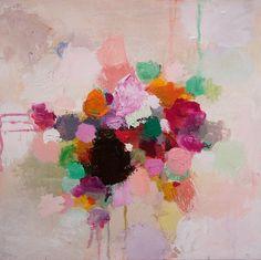 """Saatchi Online Artist Sandy Dooley; Painting, """"Summer Colour II"""" #art"""