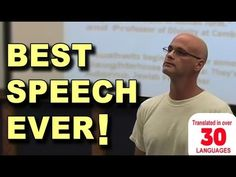 Best Speech You Will Ever Hear - Gary Yourofsky (+afspeellijst) Best Vegan Documentaries, Gary Yourofsky, Best Speeches, Inspirational Speeches, Especie Animal, Georgia, Why Vegan, Think, Vegan Lifestyle