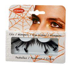 Estas pestañas postizas son perfectas para completar tu disfraz de Halloween.