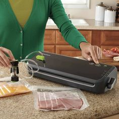 Kitchen electrics at Kohl's - Shop our wide selection of small appliances, including this FoodSaver Vacuum Sealer System, at Kohl's. Wide Mouth Mason Jars, Freezer Burn, Electronic Deals, Vacuum Sealer, Drip Tray, Small Kitchen Appliances, Kitchen Small, Specialty Appliances, High Fashion Home