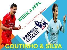 #FPL Week 4 Tips & Predictions
