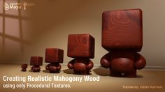 Creating Realistic Wood Texture in Maya, using only Procedural Textures - Blogs - Digital-Tutors