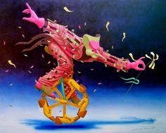 Por Amor al Arte: Claudio Souza pintor surrealista romántico.