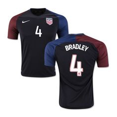 Nike USA Bradley #4 USMNT Soccer Jersey (Away 2016/17): http://www.soccerevolution.com/store/products/NIK_40958_A.php