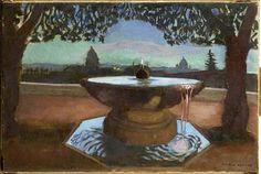 Peintures des Musées de France: BEAUVAIS - Maurice Denis vasque de la Villa Medicis
