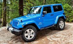 Jeep Wrangler Sahara...THIS COLOR>